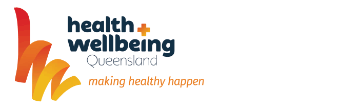 QLD health & wellbeing logo