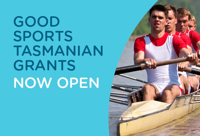 Good Sports Tasmanian Grants banner