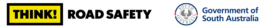 Think! Road safety South Australia logo